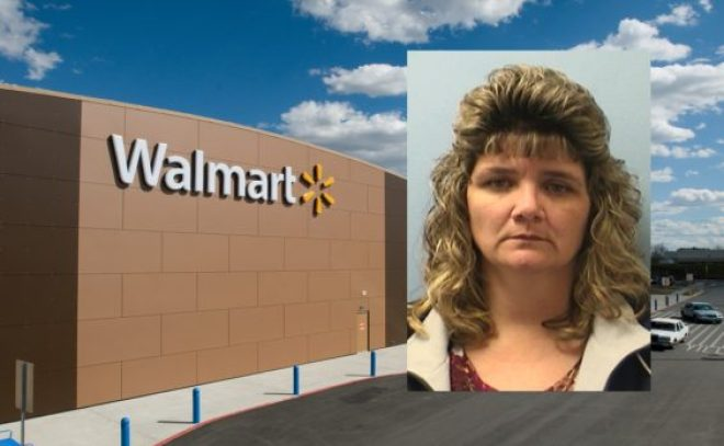 Walmart cashier arrested