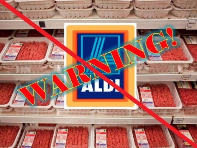 ALDI warning
