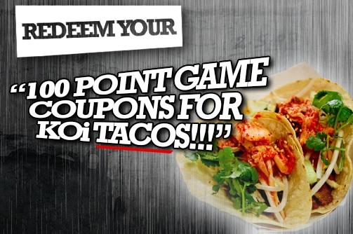 Taco coupon