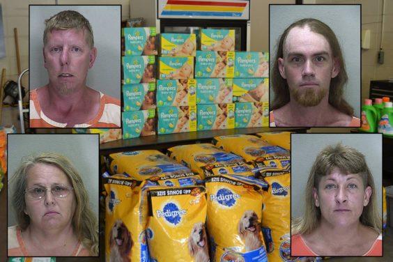 Florida coupon arrests
