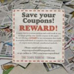 Newspaper Puts a Bounty on Coupon Resellers