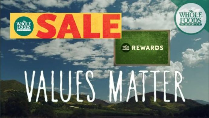 Whole Foods promotions