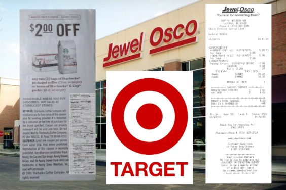 Couponer Sues Target and Jewel-Osco, Says Starbucks Should Pay His ...