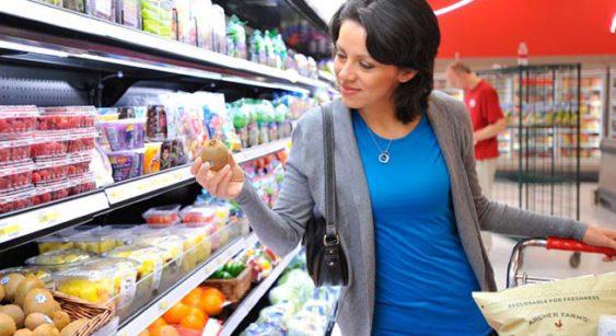 Target grocery shopper