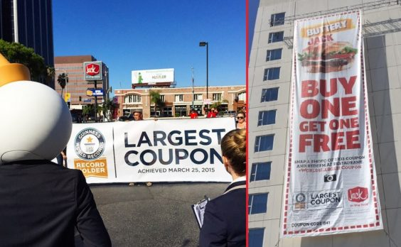 World's largest coupon