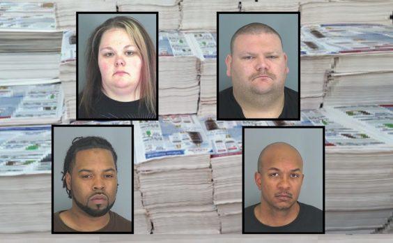 Spartanburg coupon arrests