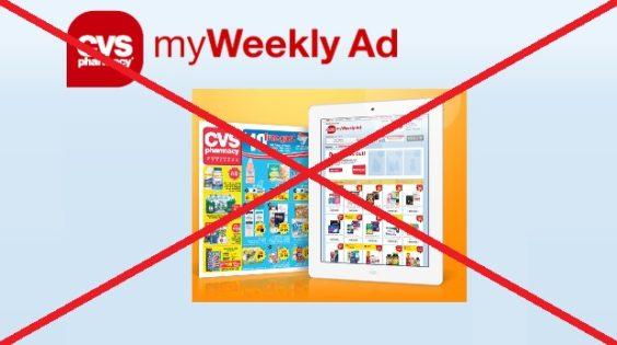 CVS no ad