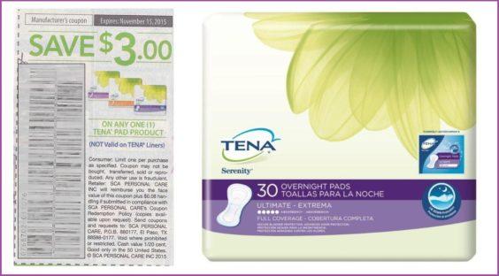 TENA coupon