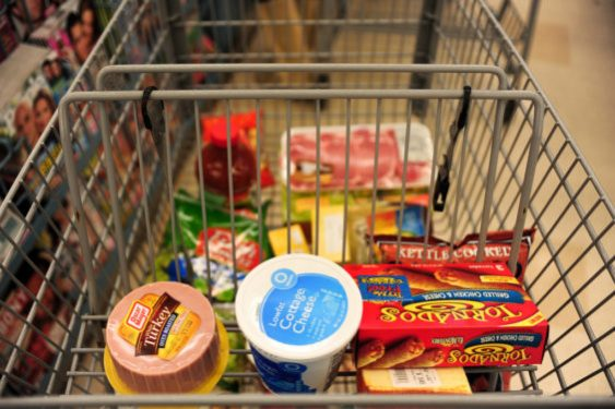 grocery cart photo
