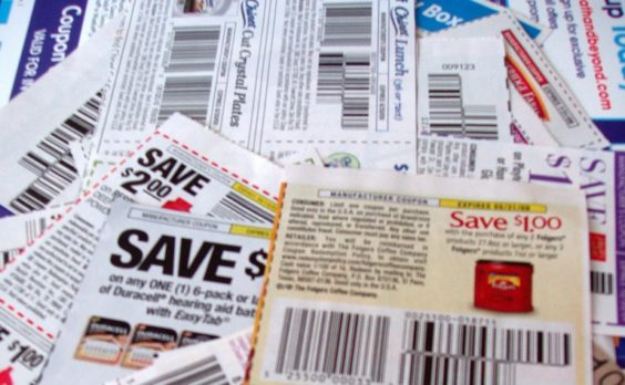 Insert coupons