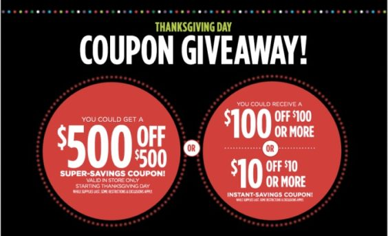 4a31e7328 JCPenney Bungles Black Friday Coupon Giveaway - Coupons in the News