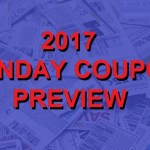2017 Coupon Insert Schedule