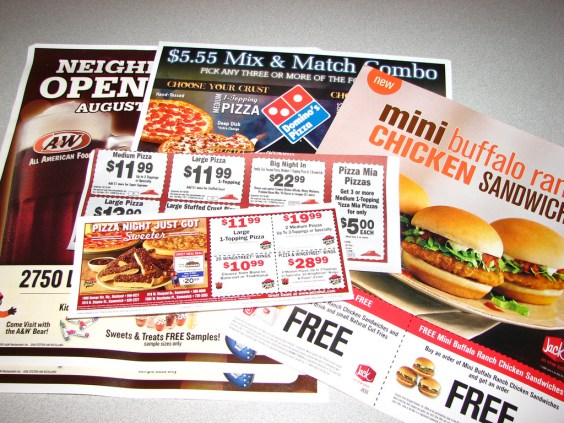 fast food coupons photo