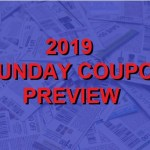 The Real 2019 Coupon Insert Schedule