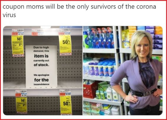 How Couponers Are Coping With The Coronavirus Coupons In The News