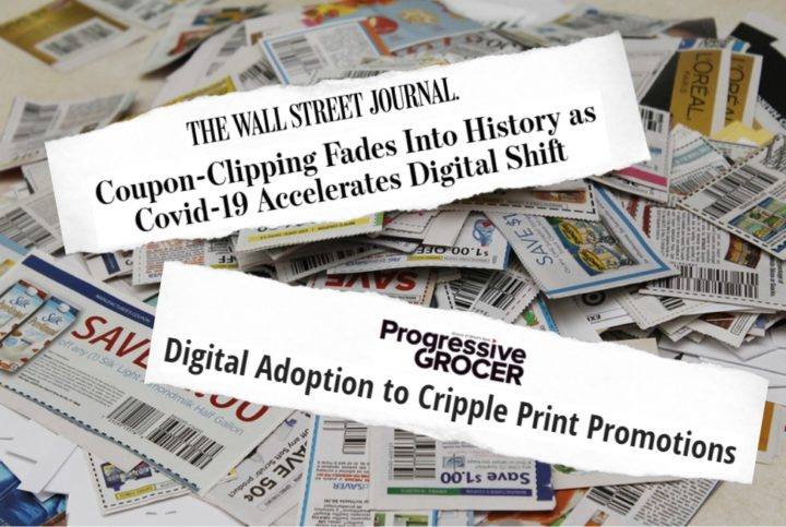 Stop The Presses Paper Coupons And Digital Too Are Still In Fashion Coupons In The News