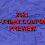 EXCLUSIVE: The Real 2021 Coupon Insert Schedule