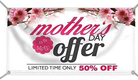 50 off mothers day specials