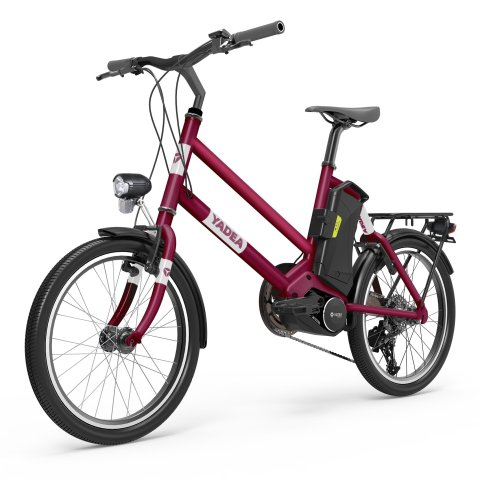 46 off yadea yt300 20inch electric city bike with 7 8ah lithium battery