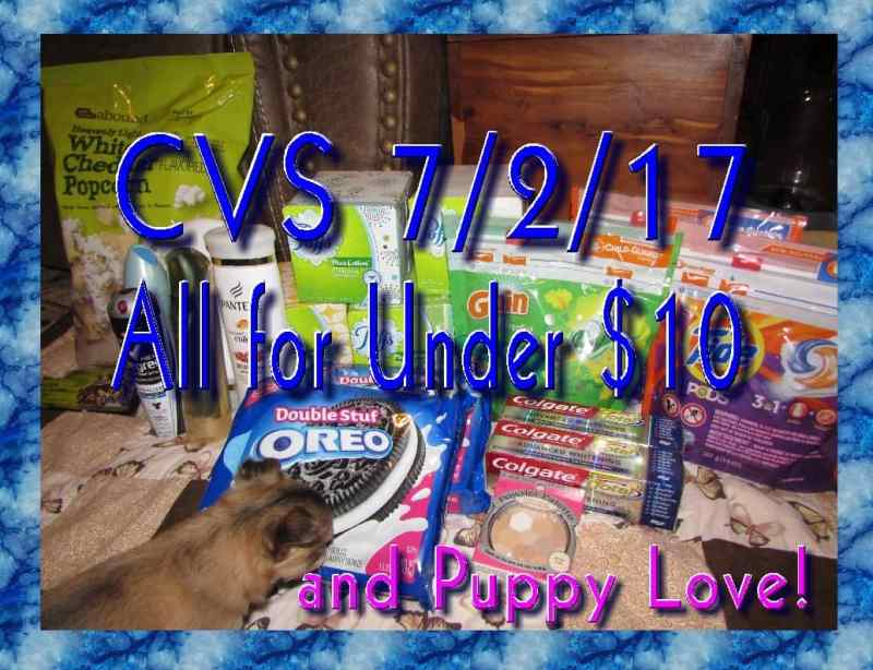 CVS Week of 7/2/17 Coupon Haul! All for Under $10!!