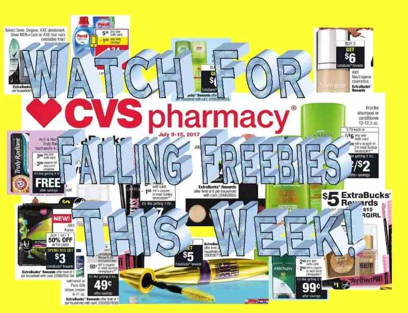 CVS Deal Ideas for the week of 7/9/17! Includes a Money Maker!