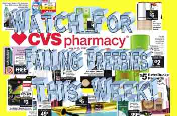 CVS 7-9-17 Deal Ideas