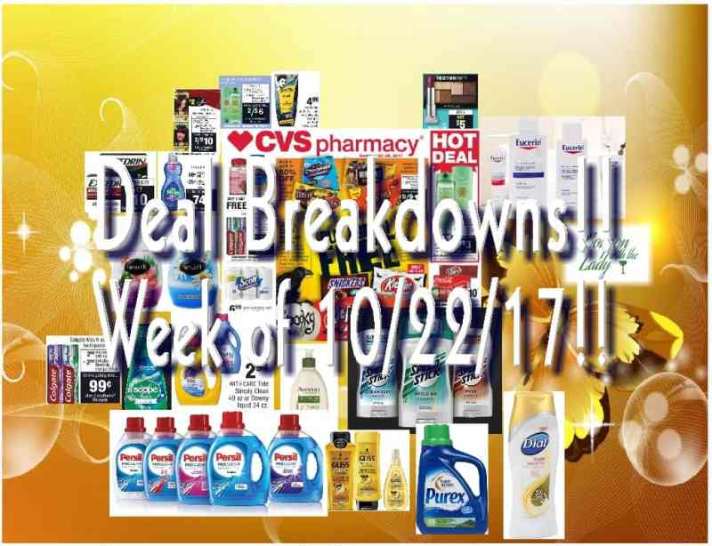 CVS Week of 10/22/17 Deal Breakdowns to Help You Make An Easier Coupon Haul!!