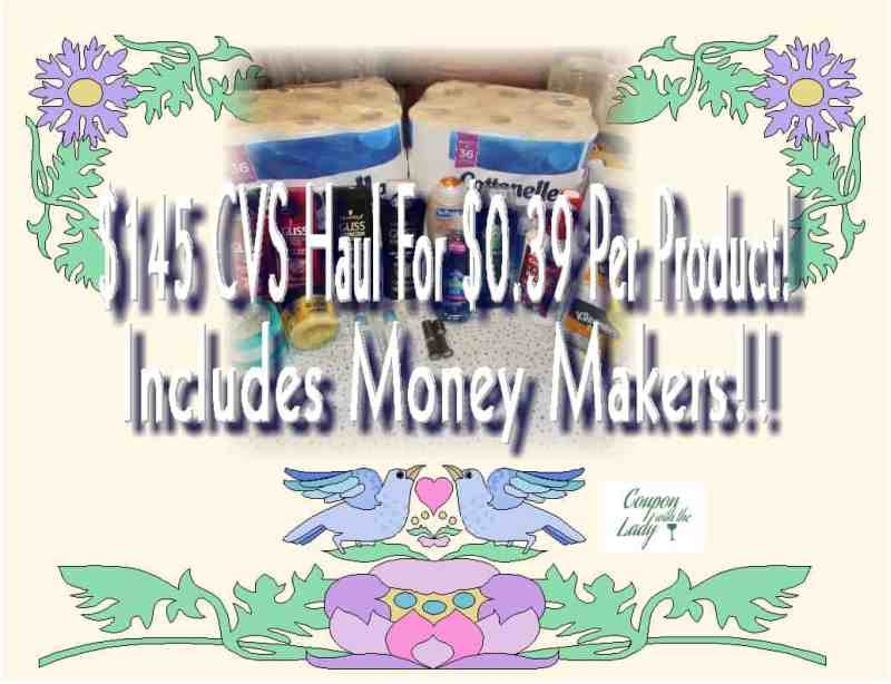 CVS Week of 2/11/18 Coupon Haul With Money Makers!!