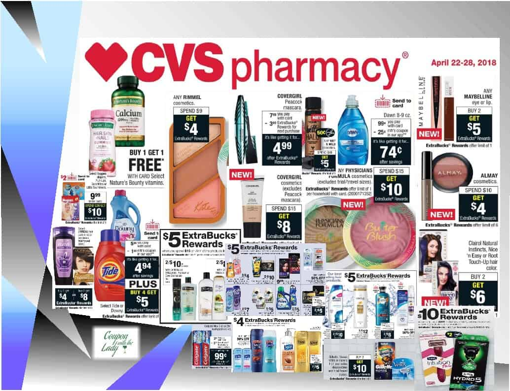 Cvs Deal Breakdowns For The Week Of 4 22 18 Coupon With The Lady