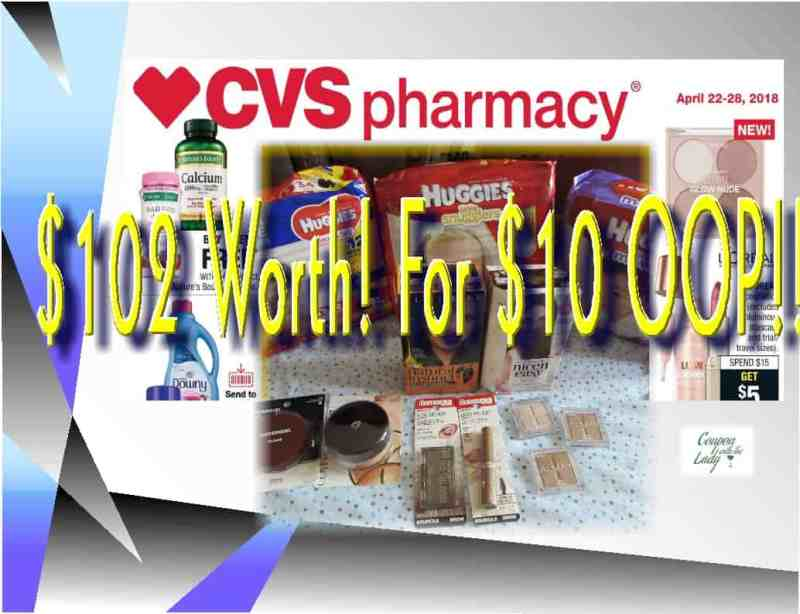 CVS Haul Breakdowns for the week of 4/22/18! Two Options for You to Choose From!