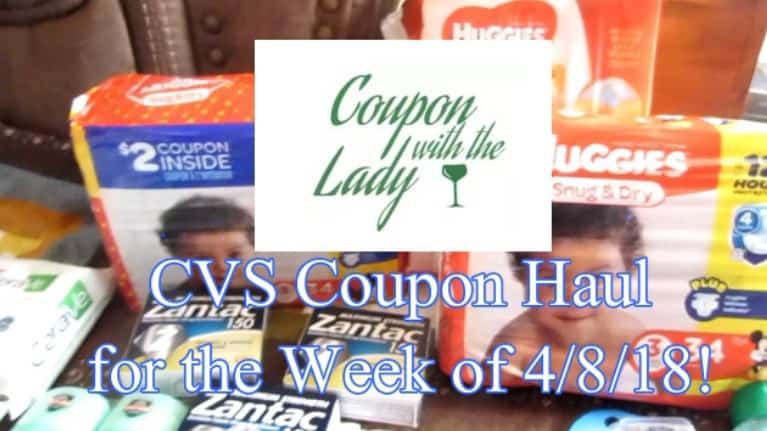 CVS Coupon Haul for the Week of 4/8/18! $164 Worth for only $0.86 per product!