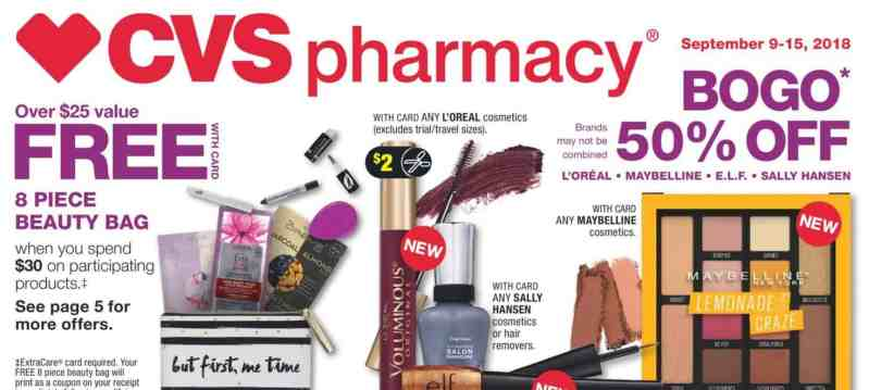 CVS Sale & Deal Ideas for the Week of 9/9/18!