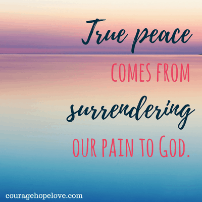 True Peace from Surrender