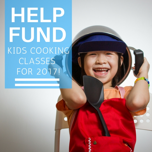 donate to kids cooking class