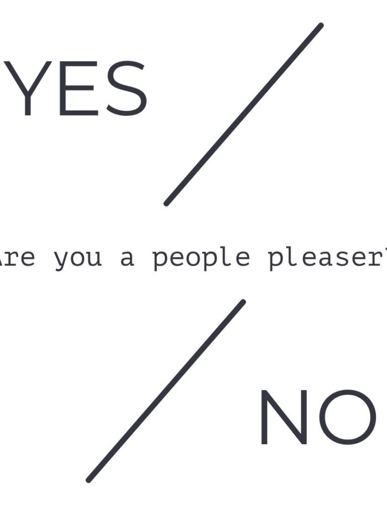 Why Saying No is Okay