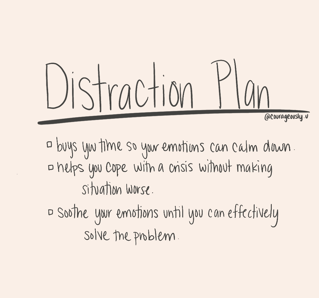 How To Use Distraction To Cope With Distress