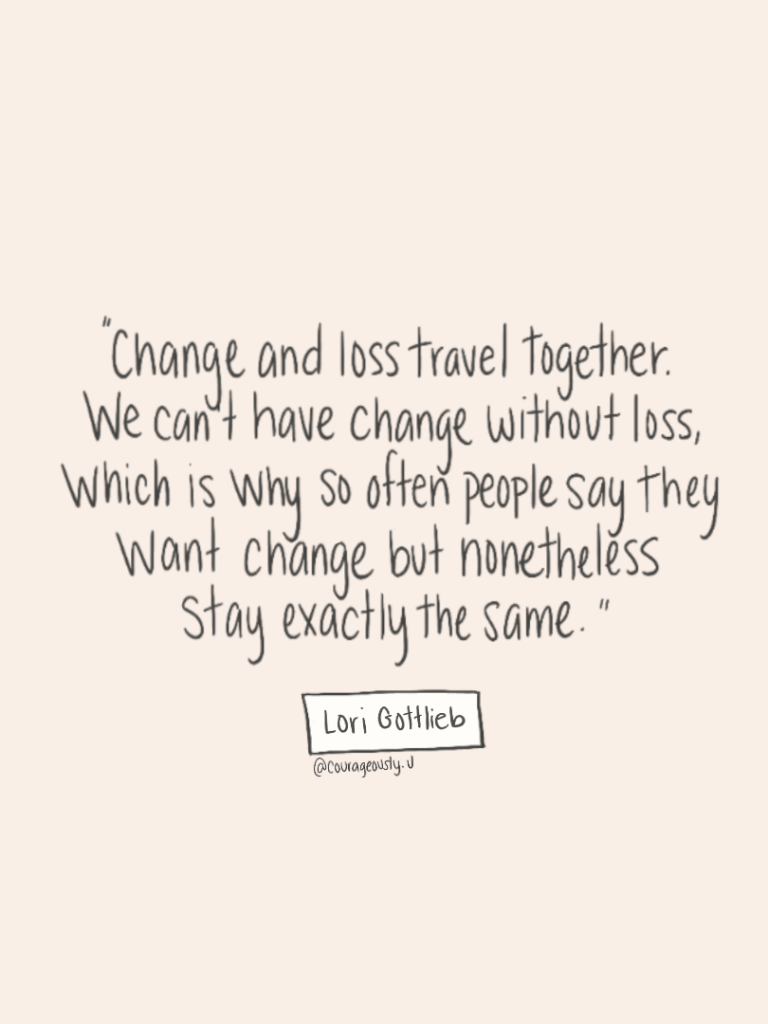 Change With A Side Of Loss