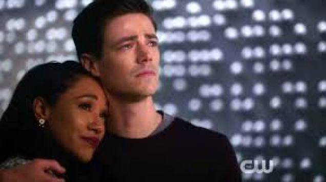 Image result for barry and iris watch nora's message
