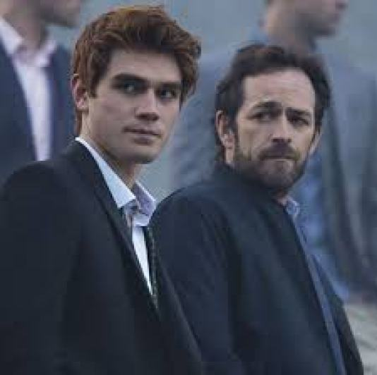 Image result for archie and fred riverdale