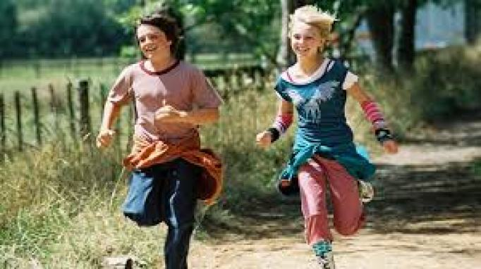 Image result for jess and leslie bridge to terabithia
