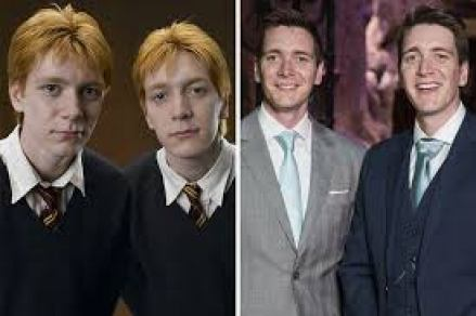 Image result for james and oliver phelps then and now