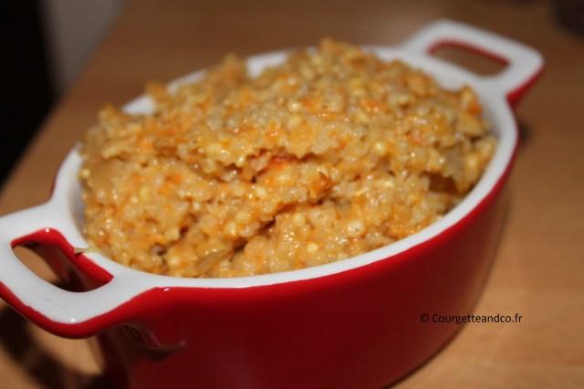 Mélange de céréales/lentilles façon risotto