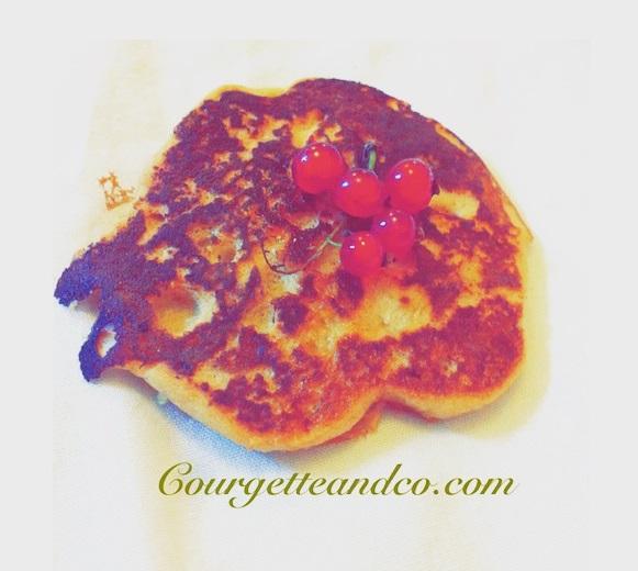 Pancakes vegan à la vanille et sans gluten