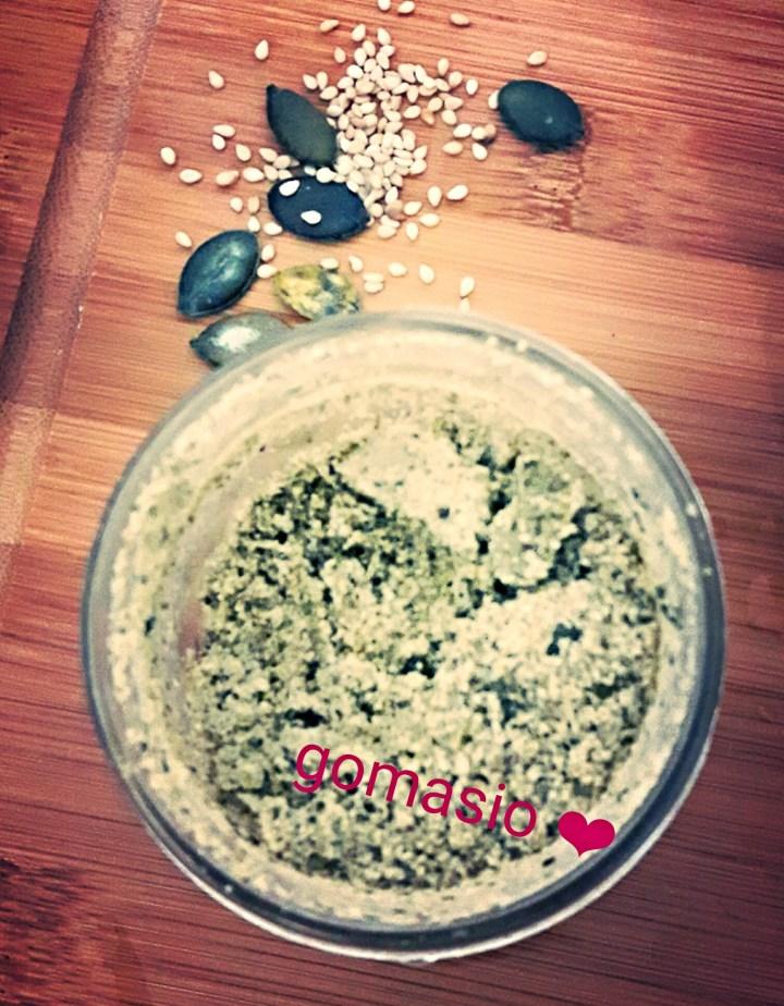 Gomasio aux graines de courges