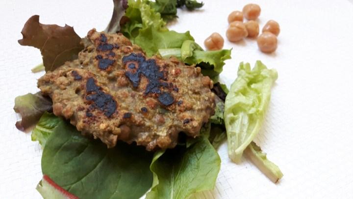 Galettes végétales proteinées