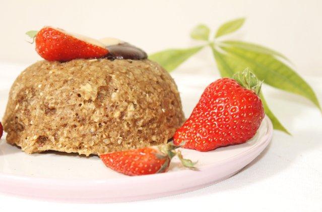 Bowlcake aux flocons de quinoa