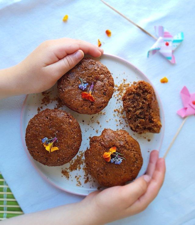 Muffins moelleux amandes-noisettes