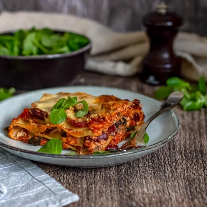 Lasagnes aux saveurs du chili
