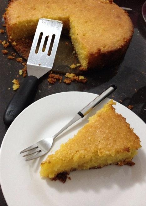 lemon polenta cake 1