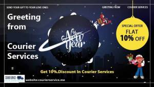 Happy New Year Courier Offer